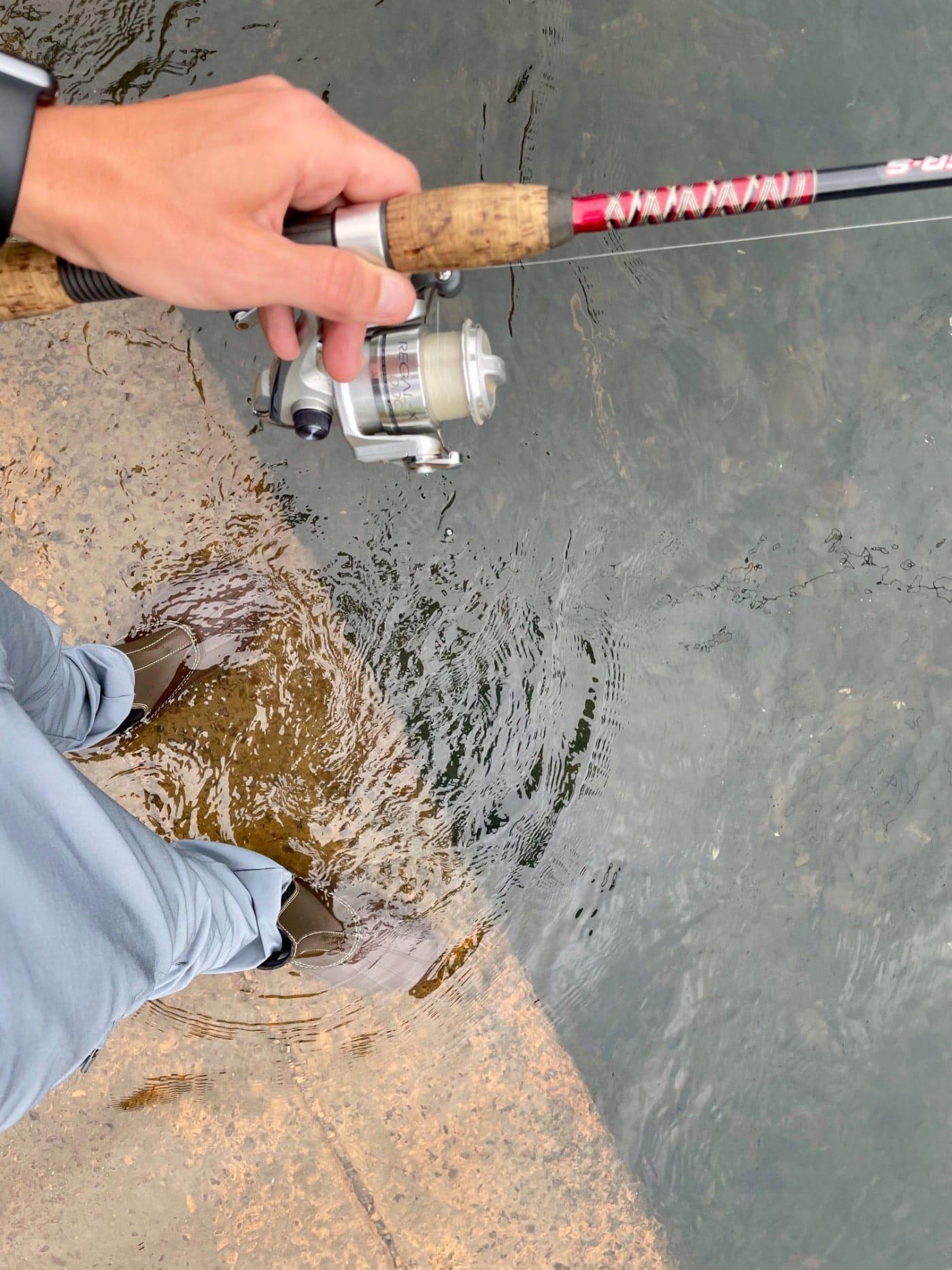 Baffin Huron water