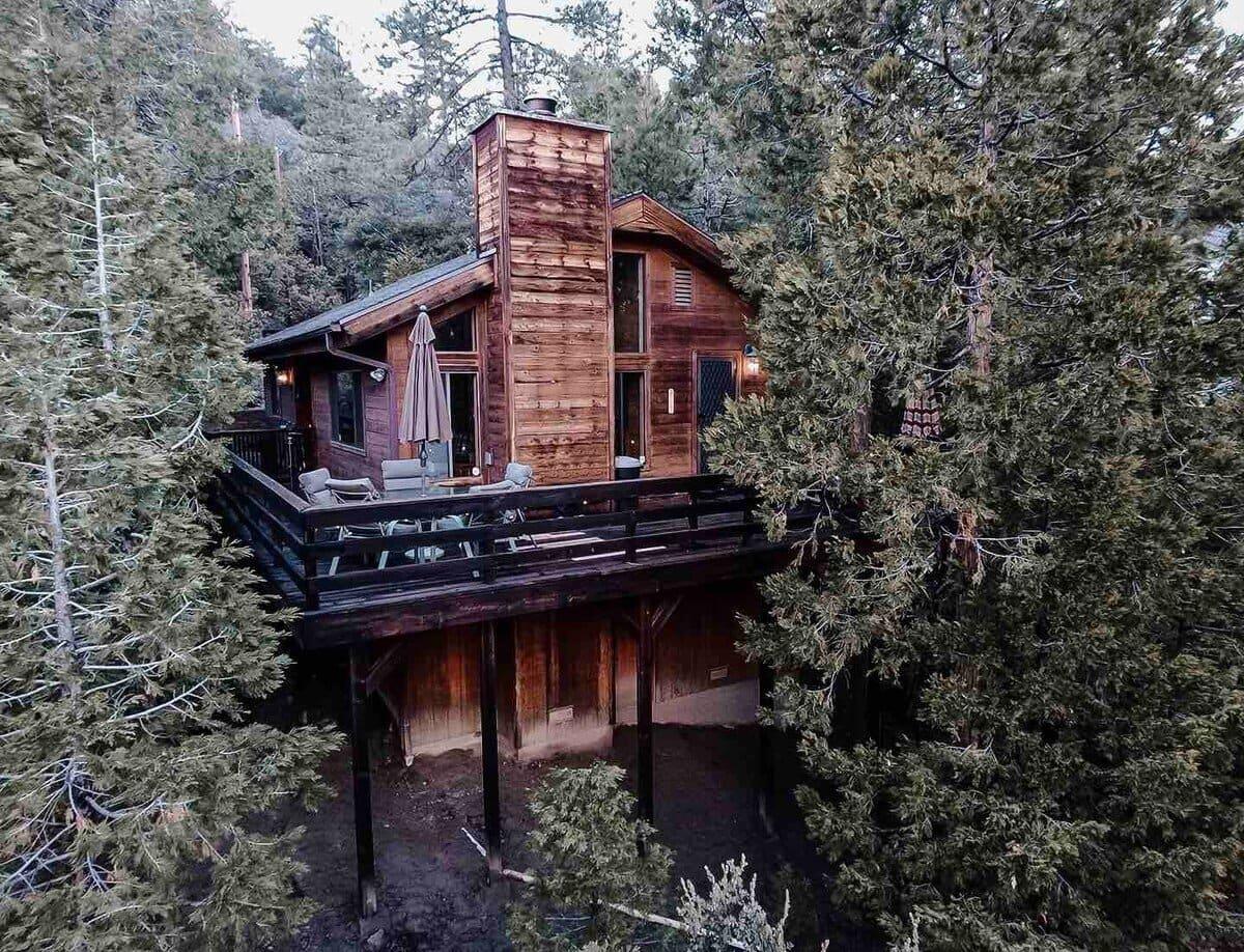 Idyllwild Cozy Lakeview Lodge