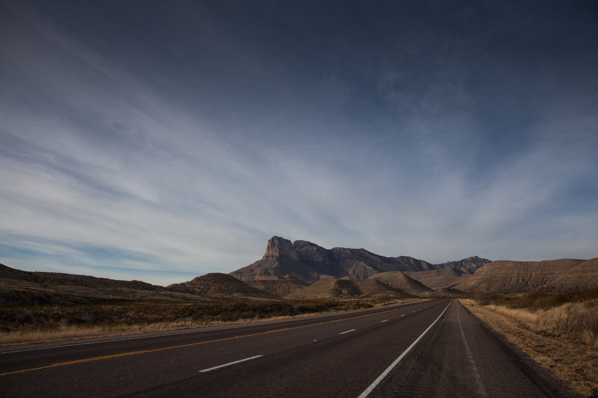 Lonesome Highway scenic drive texas