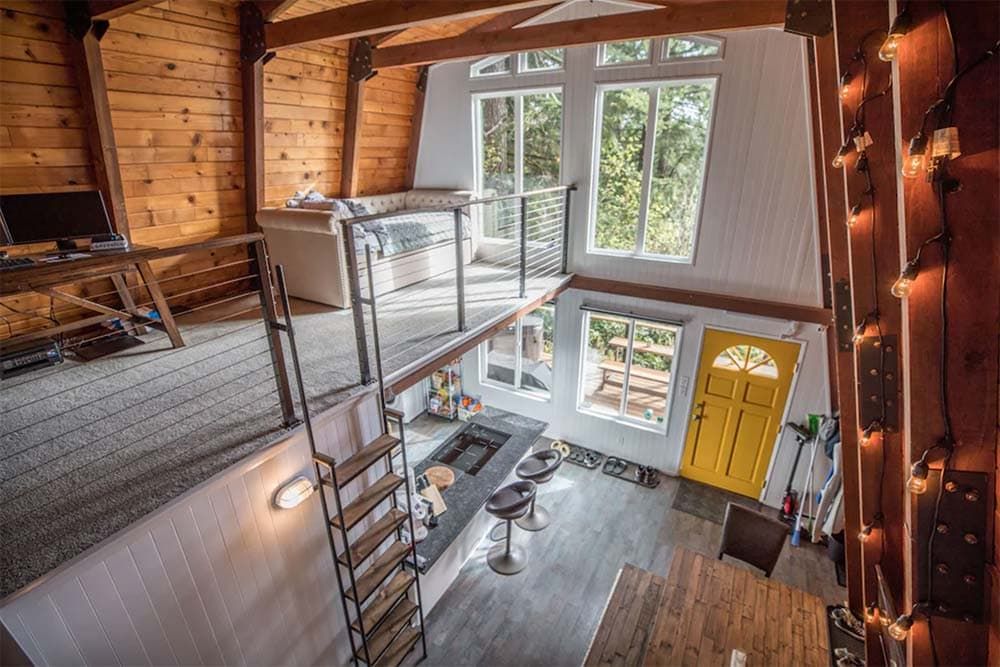 a-frame cabin rental oregon coast