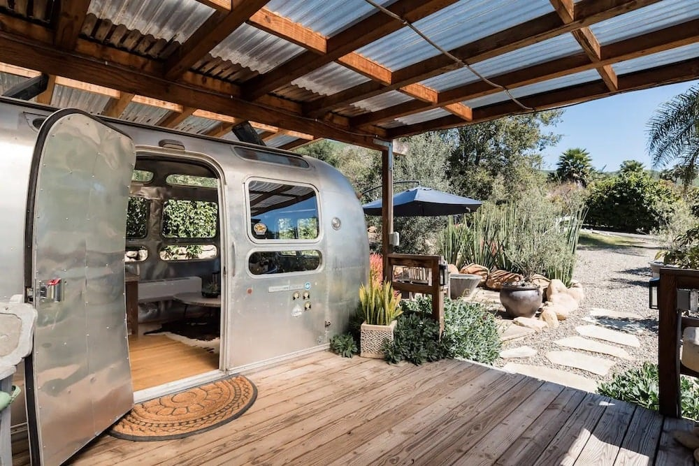 iconic 1974 airstream rental airbnb