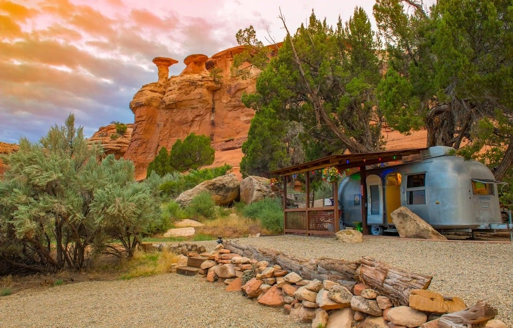 canyon hideout bungalow airstream rental