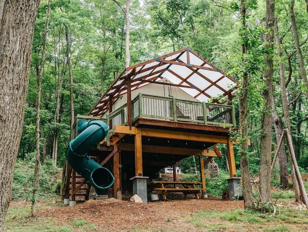 airydale retreat treehouse