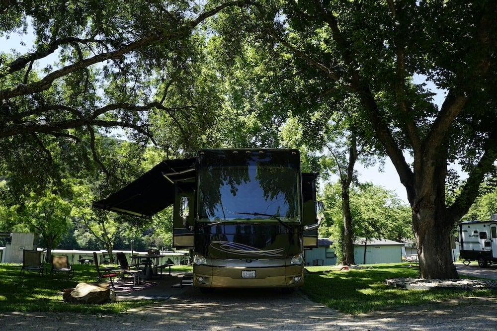Riverbend Lake Austin rv park