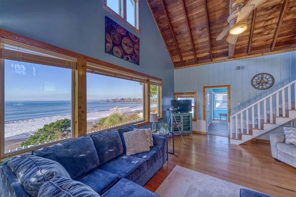 beachfront cabin oregon coast