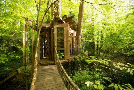 best georgia treehouse rentals