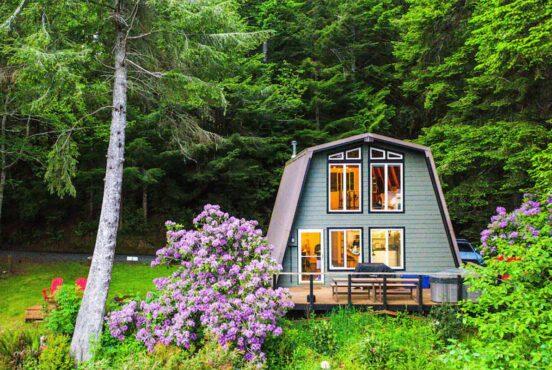 best oregon coast cabin rentals