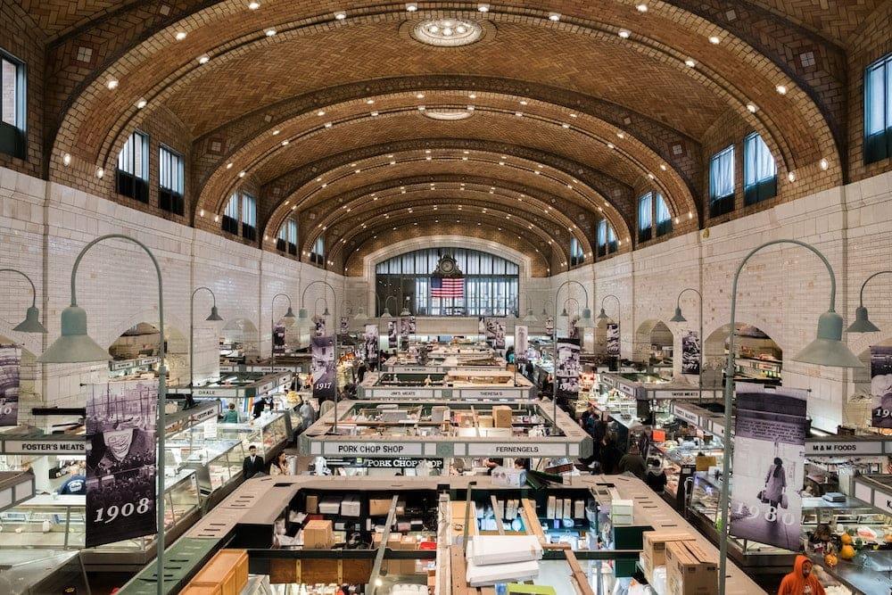 Cleveland Ohio west side market