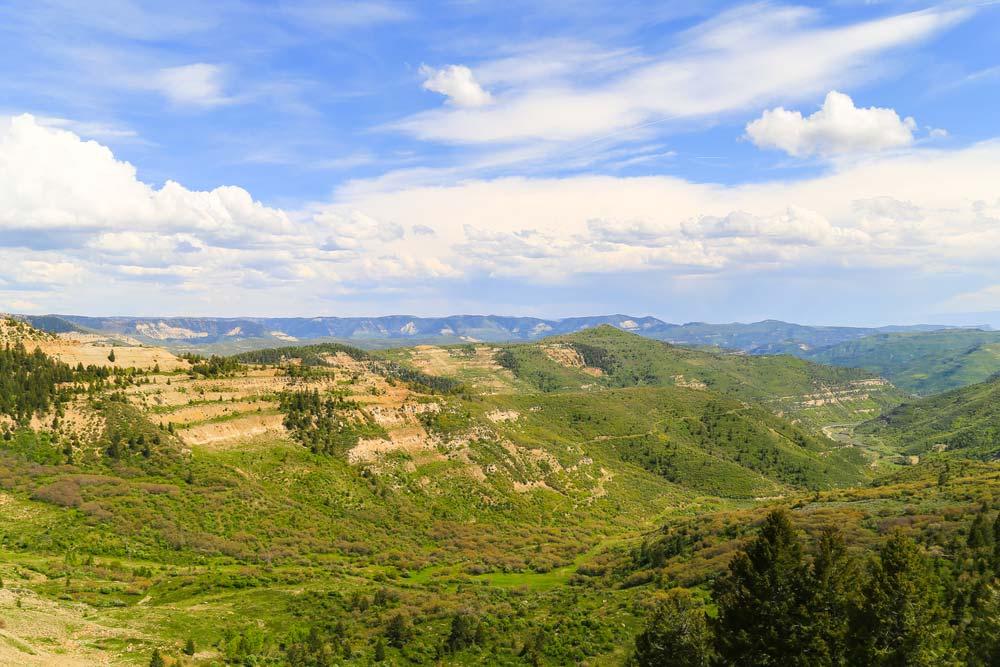dinosaur diamond scenic drive colorado