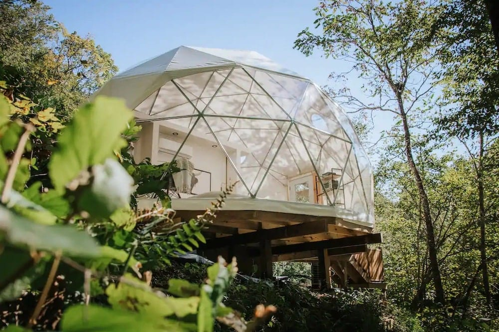 the overlook dome home