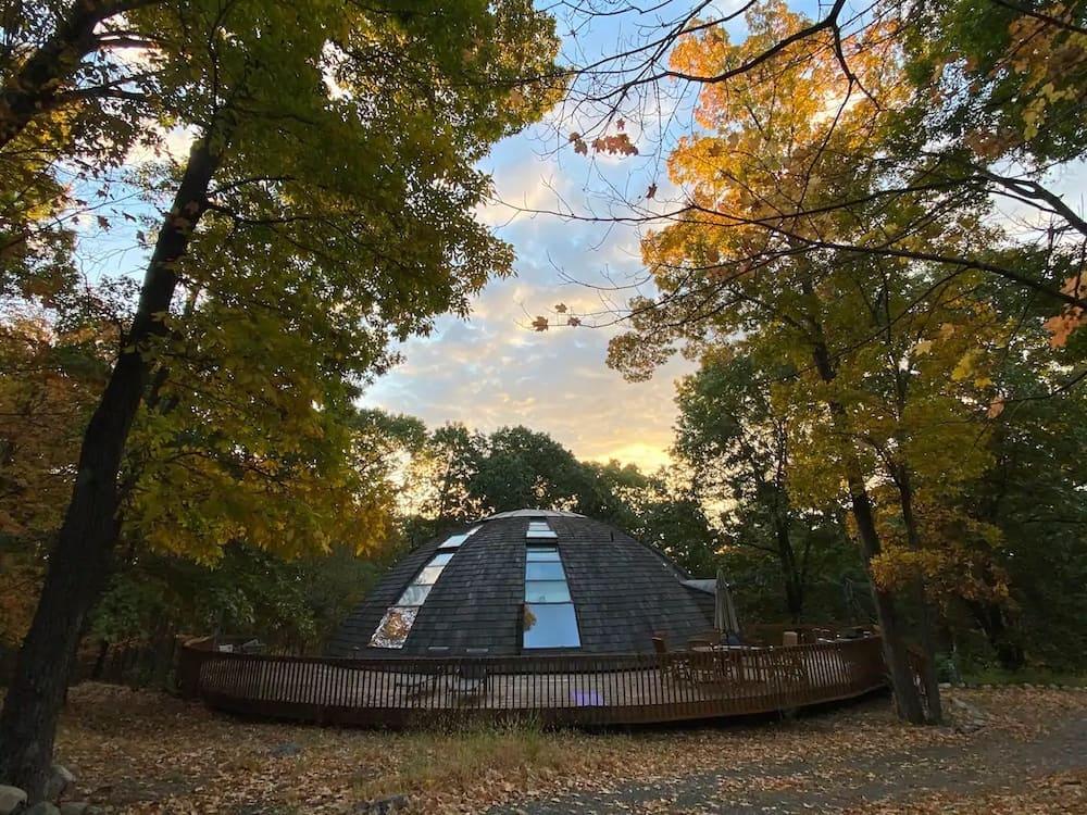 unique dome home