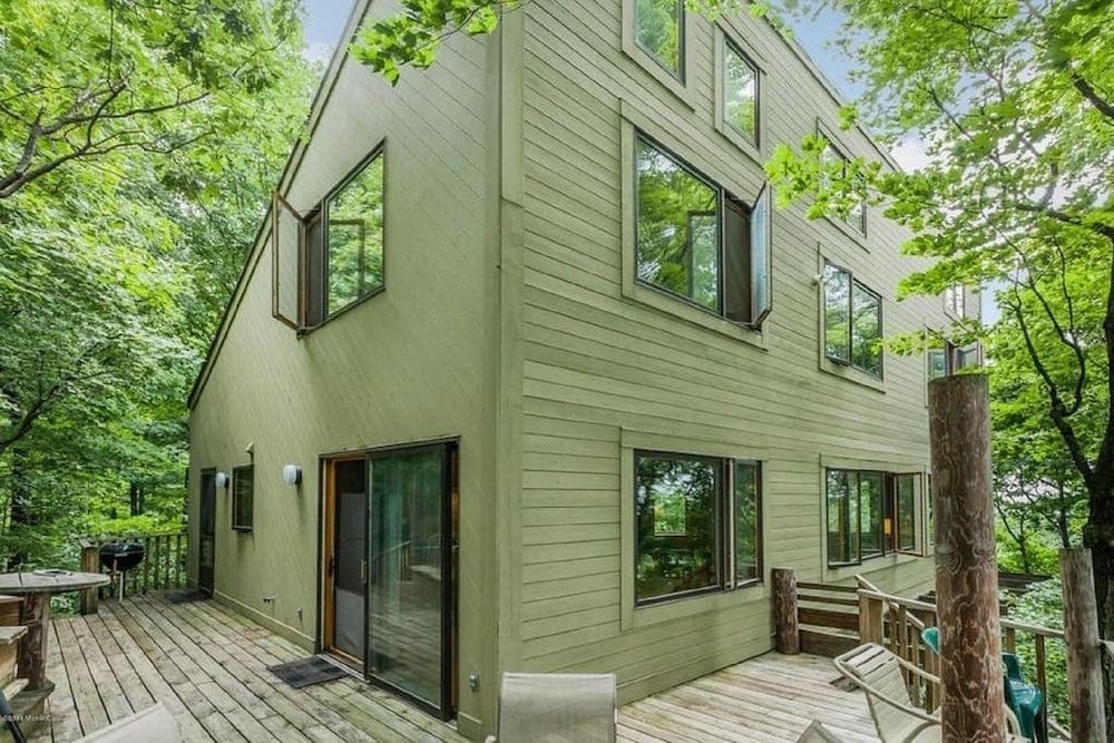 enchanted treehouse Lake Michigan