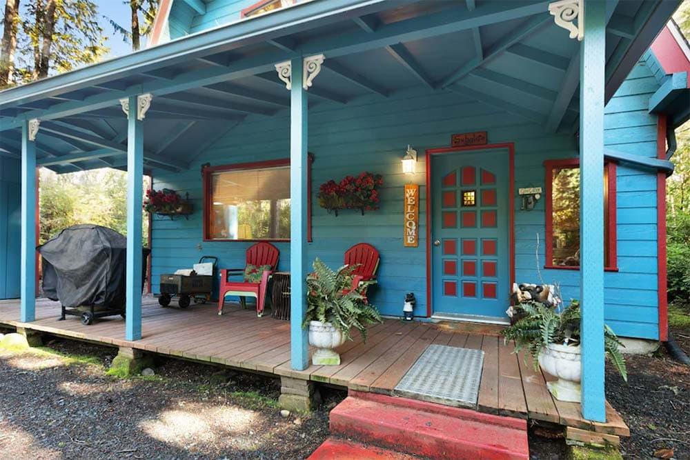 forest cabin rental oregon coast