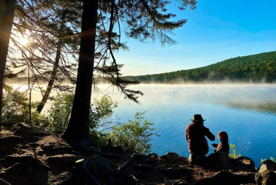 how to go backpacking with kids