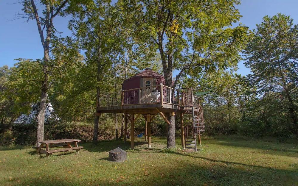 kentucky arboreal abode exterior