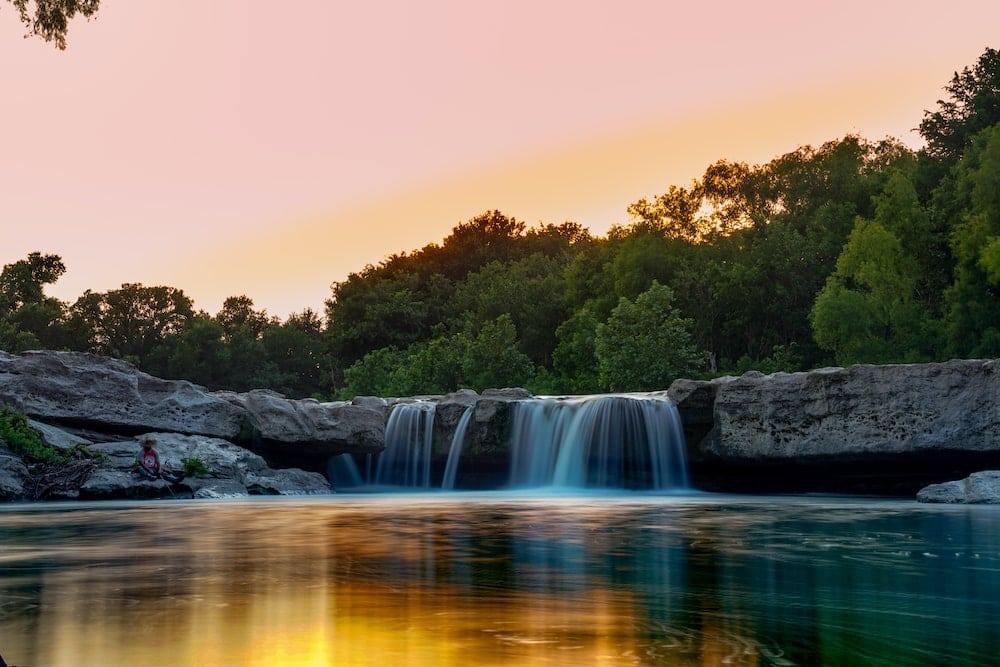 mckinney falls state park Austin swimming