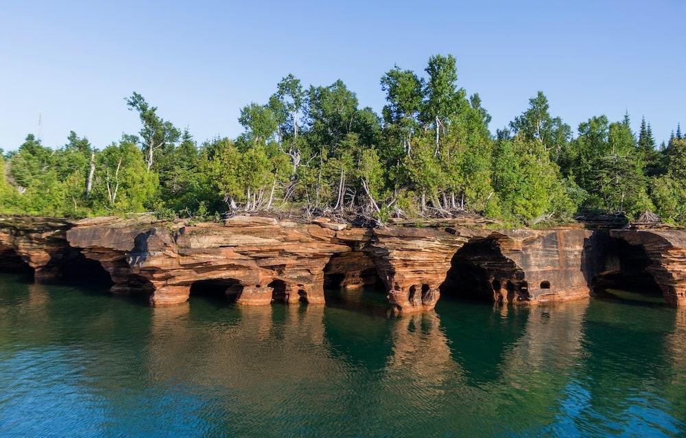 apostle islands Minneapolis road trip