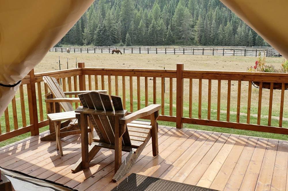 montana glamping ranch