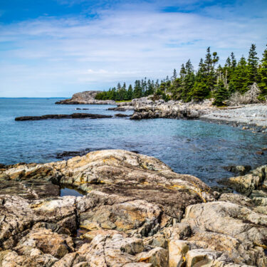 best oceanfront campgrounds in maine