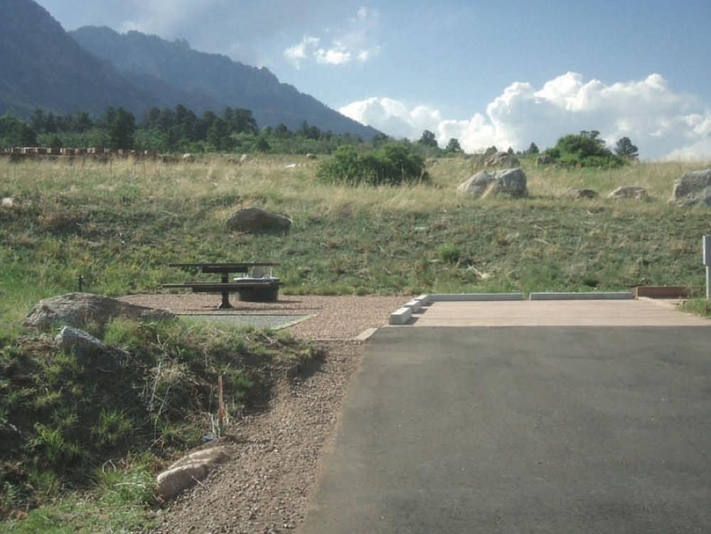 Cheyenne mountain campground rv park