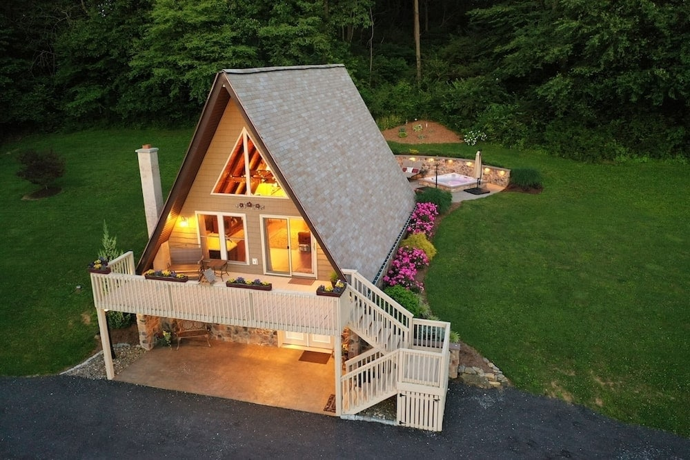 Texter Mountain getaway pennsylvania cabins