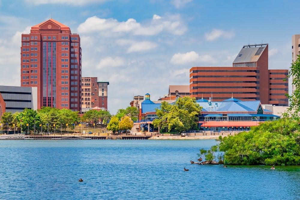 downtown Toledo Ohio maumee river