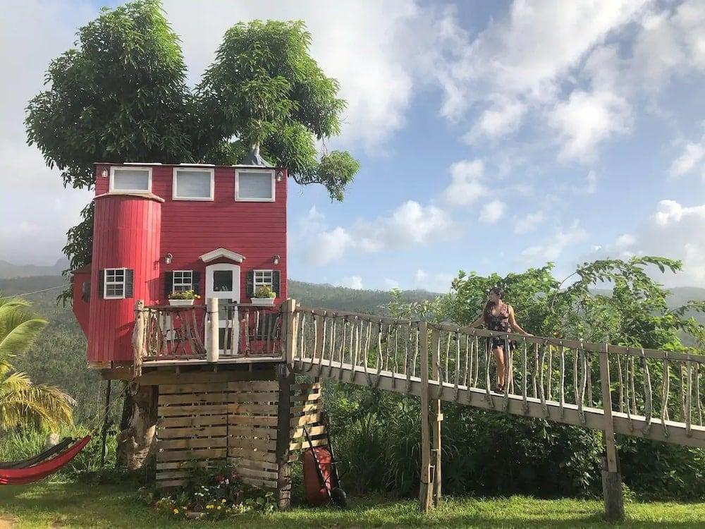 el yunque treehouse puerto rico