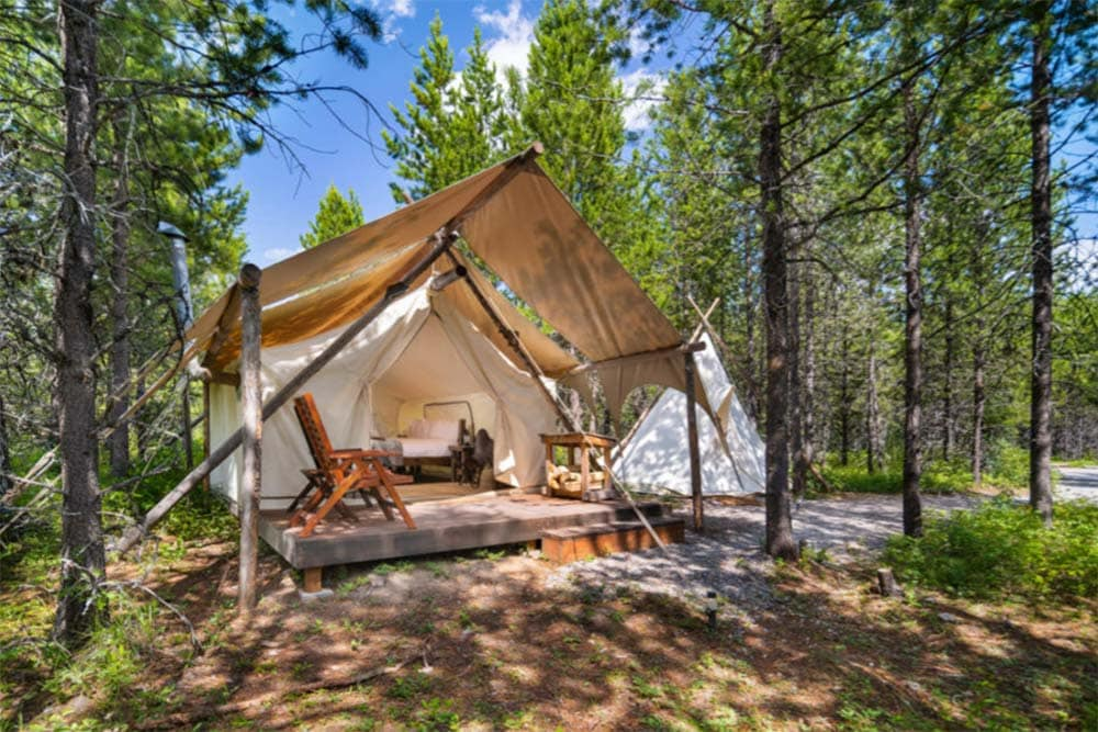under canvas glamping montana