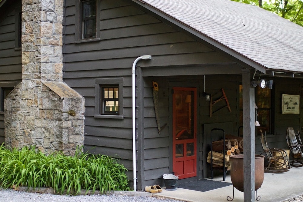 vintage logger pennsylvania cabin