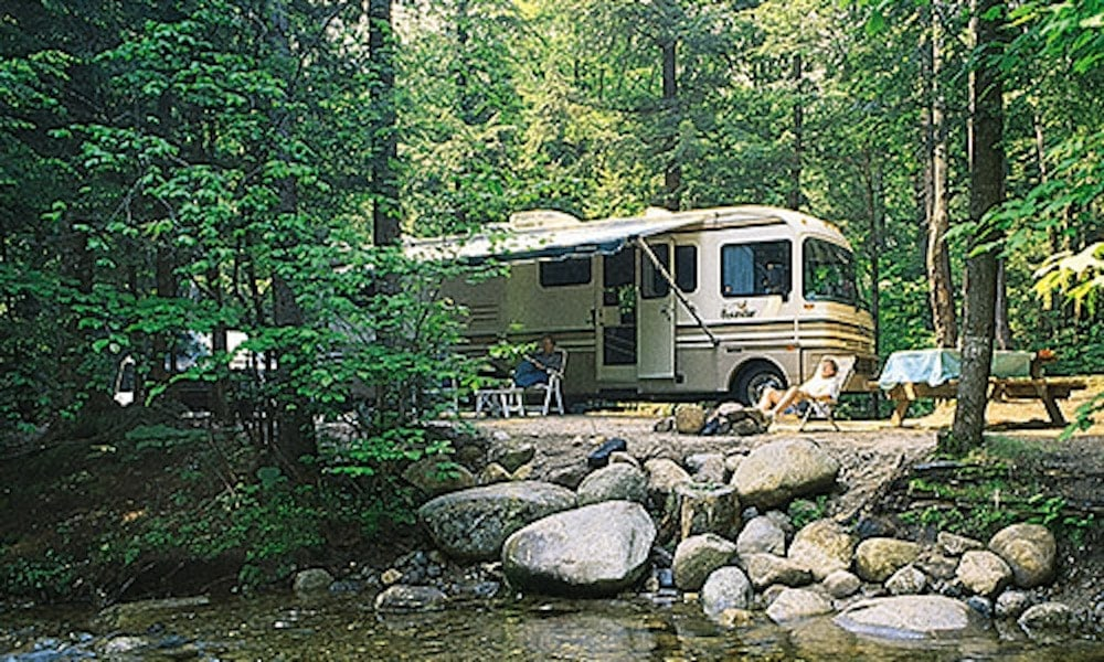 white mountain camping lost river valley