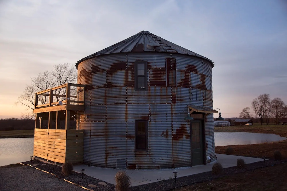 the silo airbnb