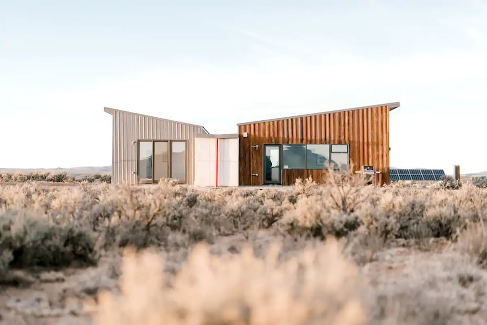 modern Taos airbnb
