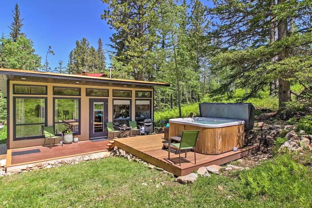 deep snow airbnb