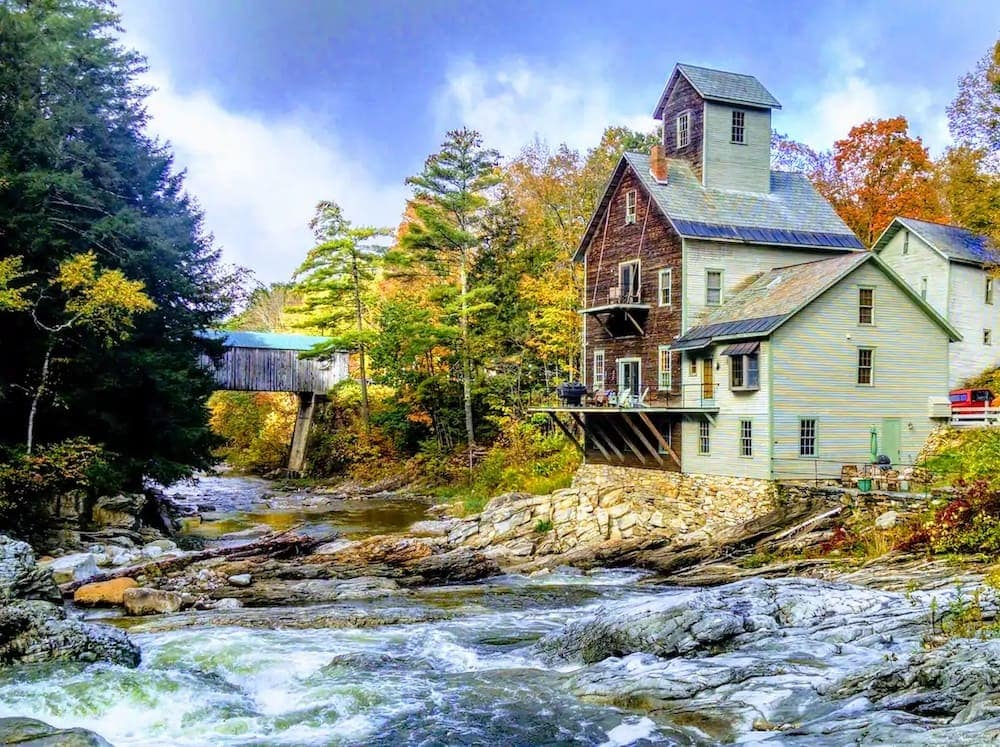 Kingsley grist mill airbnb