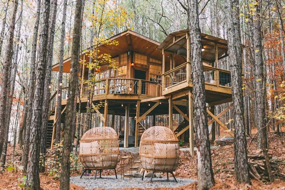 wanderlust treehouse airbnb