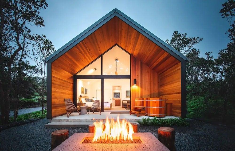 kuono at volcano Airbnb