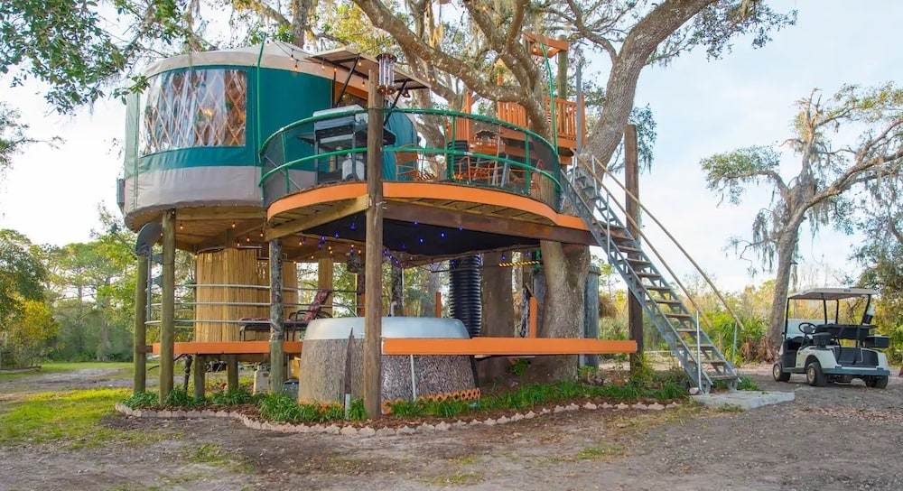 treehouse at Danville airbnb