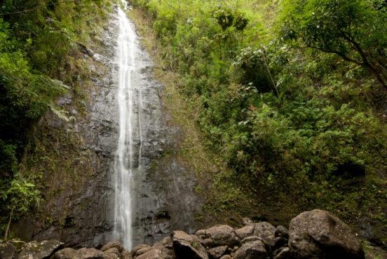best waterfall hikes oahu
