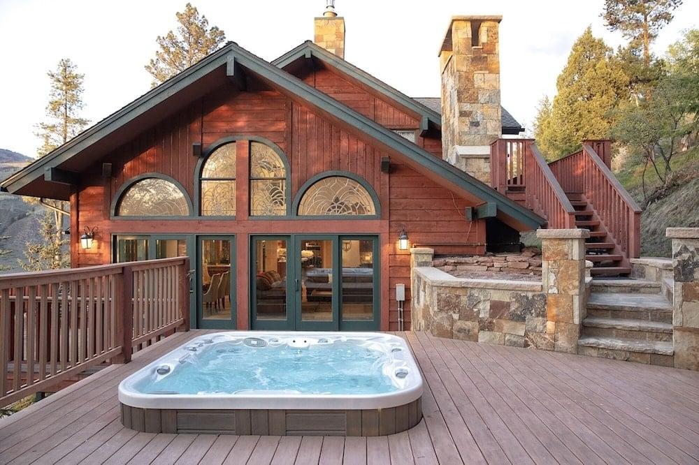 alpine chalet colorado hot tubs