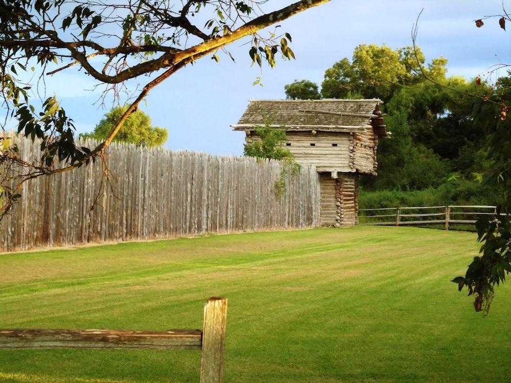 Old Fort Parker historic site Dallas houston