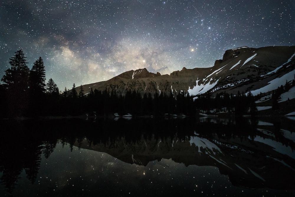 Great Basin national park night sky