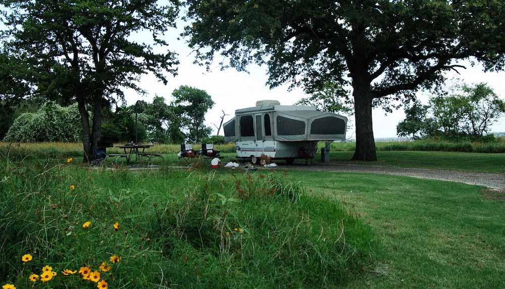 Lake Somerville State Park houston camping