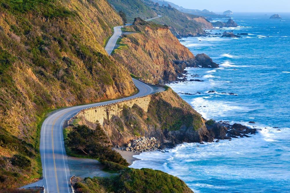 Los Angeles San Francisco road trip big sur
