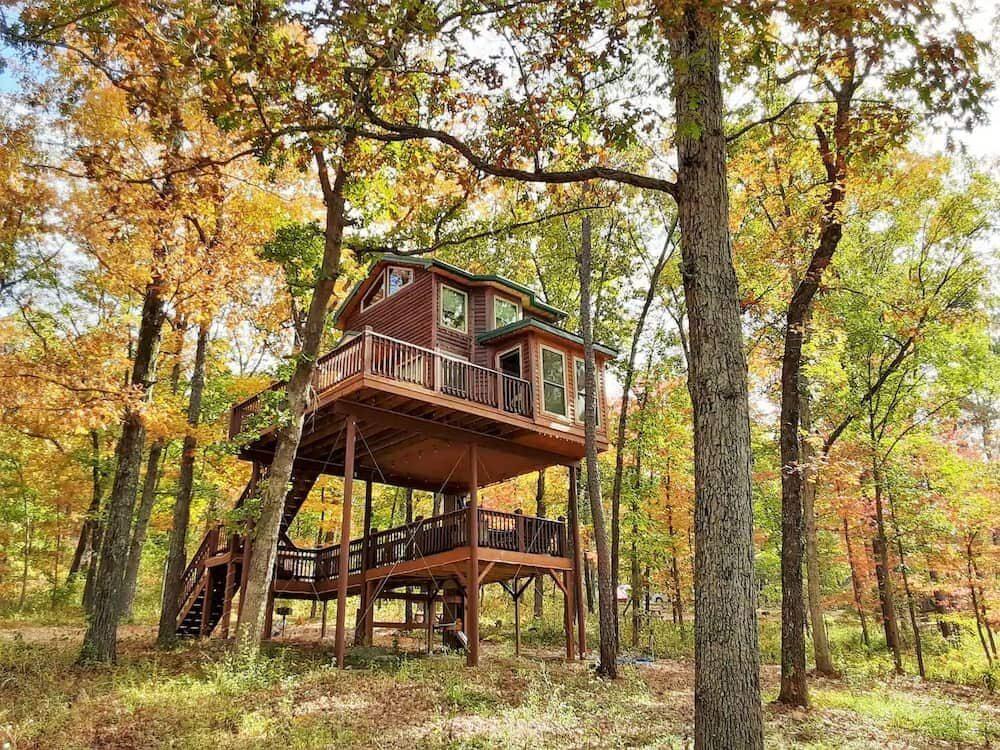Missouri Treehouse Rentals You'll Love