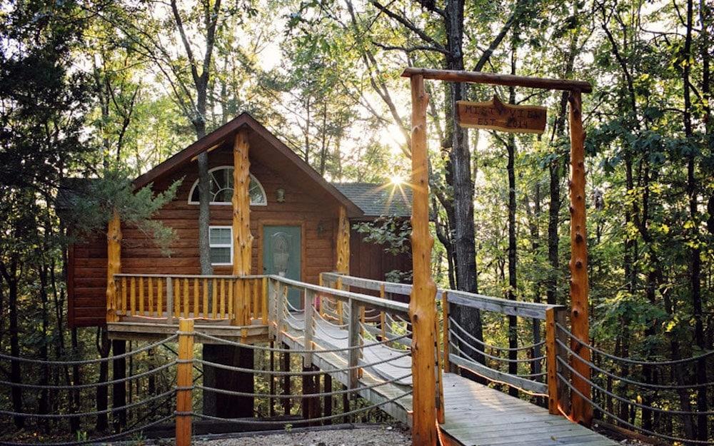 Branson Treehouse Adventures Missouri