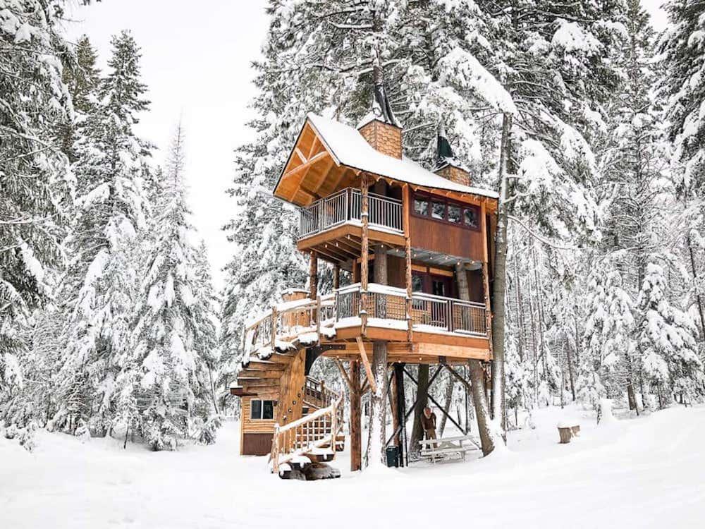 Meadowlark Treehouse Montana