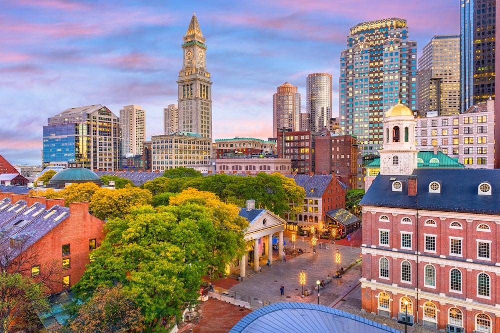 Boston major hub New Hampshire pros and cons