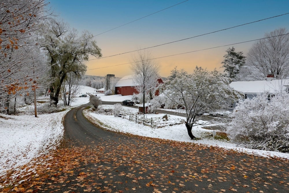 New Hampshire weather pros and cons