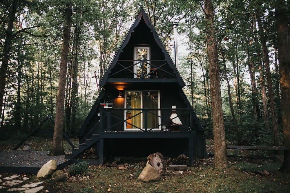 the triangle Ohio cabin