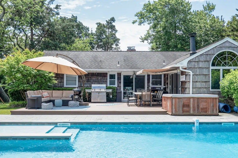 quiet ny ranch airbnbs with pool